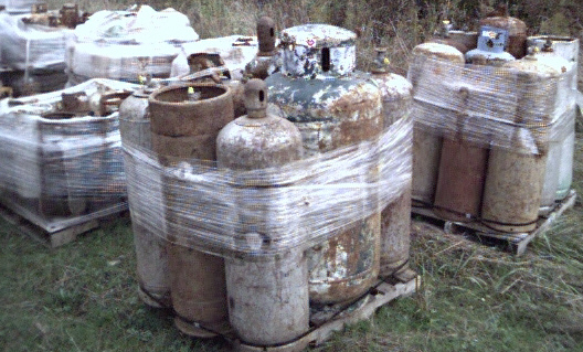 Propane Tank And Cylinder Disposal Company